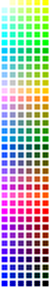 216 colour palette