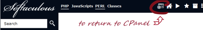 Return to CPanel